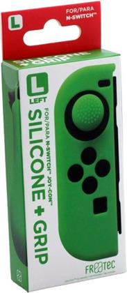 Switch Joy Con Silicone Skin + Grip - Left - Green