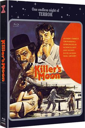 Killer's Moon (1978) (Cover A, Eurocult Collection, Limited Edition, Mediabook, Uncut, Blu-ray + DVD)