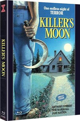 Killer's Moon (1978) (Cover B, Eurocult Collection, Limited Edition, Mediabook, Uncut, Blu-ray + DVD)