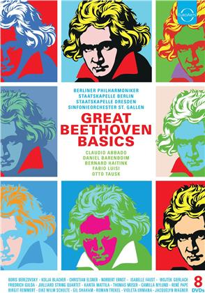 Various Artist - Great Beethoven Basics (8 DVDs)