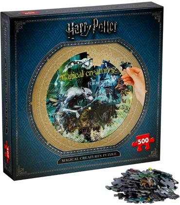 Harry Potter (Collectors) - Magical Creatures (500 Piece Jigsaw Puzzle)