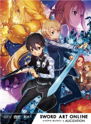 Sword Art Online - Alicization - Stagione 3 - Vol. 1 (Edizione Limitata, 3 DVD)