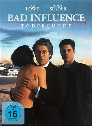 Bad Influence - Todfreunde (1990) (Cover A, Limited Edition, Mediabook, Blu-ray + DVD)