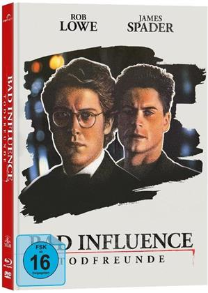 Bad Influence - Todfreunde (1990) (Cover B, Limited Edition, Mediabook, Blu-ray + DVD)