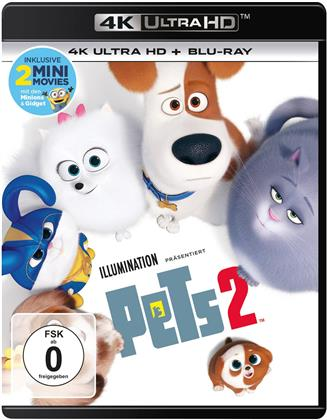 Pets 2 (2019) (4K Ultra HD + Blu-ray)