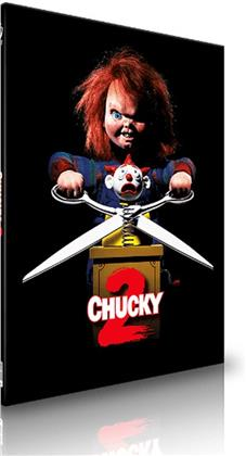Chucky 2 (1990) (Cover B, Limited Edition, Mediabook, Uncut, Blu-ray + CD)