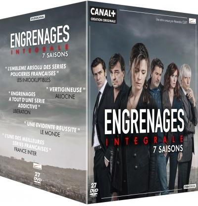 Engrenages - Saisons 1-7 (27 DVD)