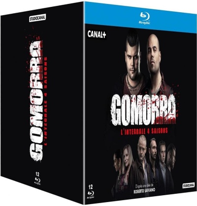 Gomorra - Saisons 1-4 (12 Blu-ray)