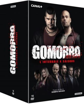 Gomorra - Saisons 1-4 (16 DVD)