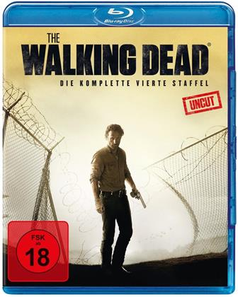 The Walking Dead - Staffel 4 (Extended Edition, Uncut, 5 Blu-ray)