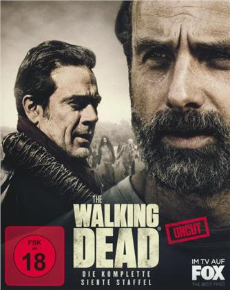 The Walking Dead - Staffel 7 (Uncut, 6 Blu-rays)