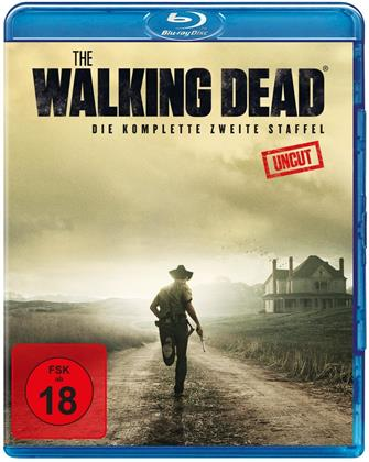 The Walking Dead - Staffel 2 (Uncut, 3 Blu-rays)