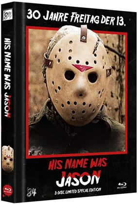 His name was Jason - 30 Jahre Freitag, der 13. (2009) (Cover B, Edizione Speciale Limitata, Mediabook, Blu-ray + 2 DVD)
