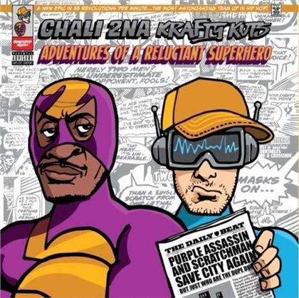 Chali 2Na & Krafty Kuts - Adventures Of A.. (LP)