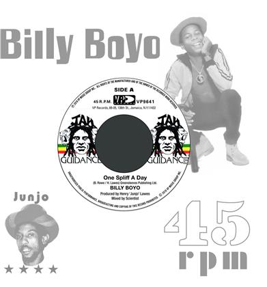 "Roots Radics & Billy Boyo - One Spliff A Day / One Dub A Day (7"" Single)"