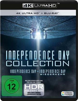 Independence Day Collection - Independence Day & Independence Day: Wiederkehr (2 4K Ultra HDs + 2 Blu-rays)