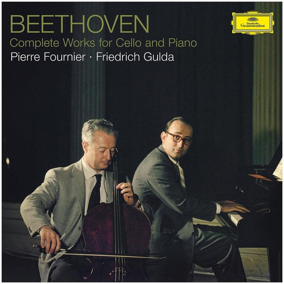 Ludwig van Beethoven (1770-1827), Pierre Fournier & Friedrich Gulda (1930-2000) - Complete Works For Cello (3 LPs)