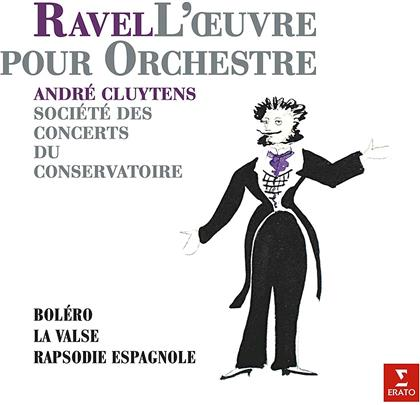 Andre Cluytens & Maurice Ravel (1875-1937) - LOœuvre Pour Orchestre (LP)
