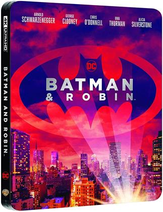 Batman & Robin (1997) (Steelbook, 4K Ultra HD + Blu-ray)
