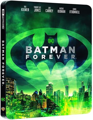 Batman Forever (1995) (Steelbook, 4K Ultra HD + Blu-ray)