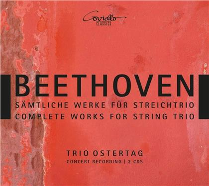 Trio Ostertag, Ludwig van Beethoven (1770-1827), Christian Ostertag, Katrin Melcher & Martin Ostertag - Complete Works For String Trio