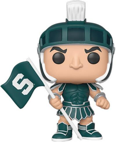 Funko Pop! College: - Michigan State - Sparty (Home Greek Army)
