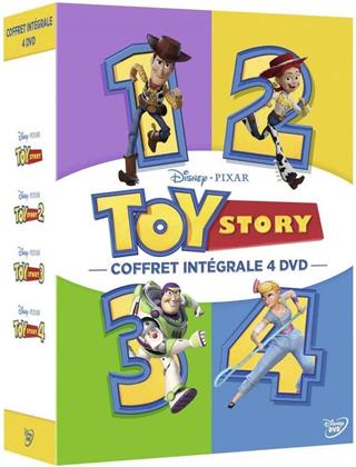 Toy Story 1-4 (Box, 4 DVDs)
