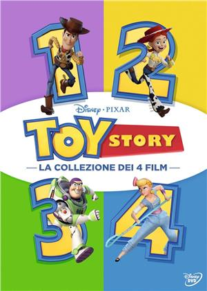 Toy Story 1-4 (Cofanetto, 4 DVD)