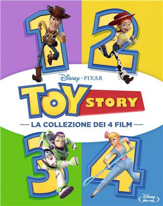 Toy Story 1-4 (Cofanetto, 4 Blu-ray)