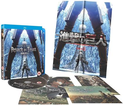 Attack On Titan - Season 3 Part 1 (Collector's Edition, 2 Blu-rays)