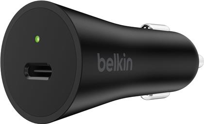 Belkin Boost Charge USB-C Car Charger [27W] - black