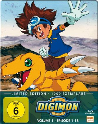 Digimon: Digital Monsters - Adventure - Staffel 1 - Vol. 1 (Limited Edition, 2 Blu-rays)