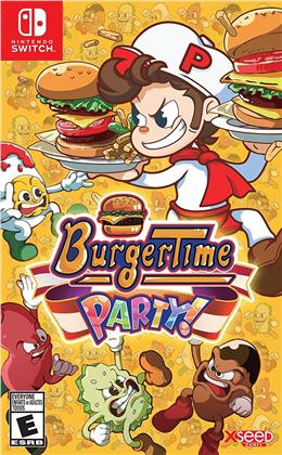 Burgertime Party