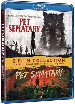 Pet Sematary - 2-Movie Collection (30th Anniversary Edition, 2 Blu-rays)