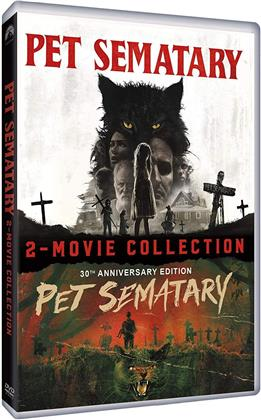 Pet Sematary - 2-Movie Collection (30th Anniversary Edition, 2 DVDs)