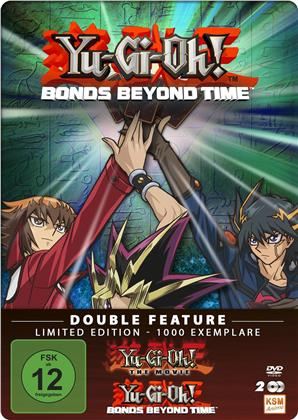Yu-Gi-Oh! - Movie Collection - Der Film + Bonds Beyond Time (Limited Edition, Steelbook, 2 DVDs)