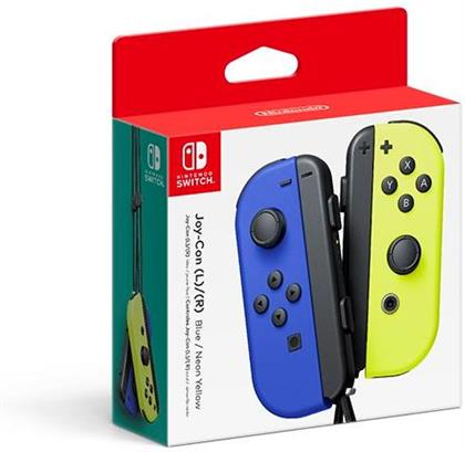 Joy-Con 2-Pack - blue/neon-yellow [NSW]