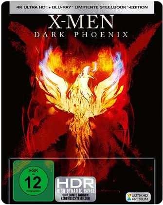 X-Men: Dark Phoenix (2019) (Limited Edition, Steelbook, 4K Ultra HD + Blu-ray)