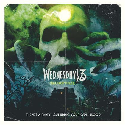 Wednesday 13 - Necrophaze (Black Green Splatter Vinyl, LP)