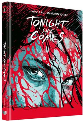 Tonight She Comes (2016) (Cover G, Limited Collector's Edition, Mediabook, Uncut, Blu-ray + DVD + CD)