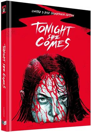 Tonight She Comes (2016) (Cover F, Limited Collector's Edition, Mediabook, Uncut, Blu-ray + DVD + CD)