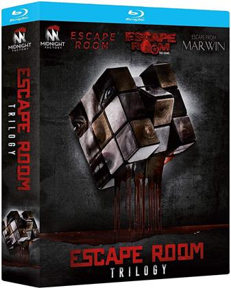 Escape Room Trilogy - Escape Room; Escape Room - The Game; Escape from Marwin (3 Blu-rays)