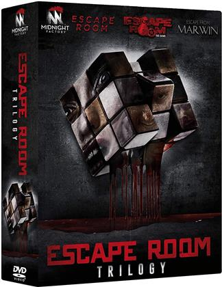 Escape Room Trilogy - Escape Room; Escape Room - The Game; Escape from Marwin (3 DVDs)