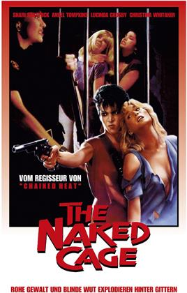 The Naked Cage (1986) (Cover B, Limited Edition, Mediabook, Blu-ray + DVD)