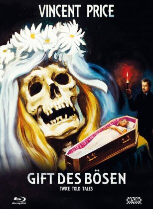 Gift des Bösen (1963) (Cover B, Limited Edition, Mediabook, Blu-ray + DVD)