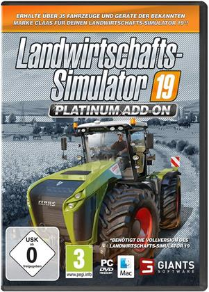 Landwirtschafts-Simulator 19 - Offizielles CLAAS Platinum Add-On
