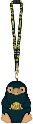 Fantastic Beasts Niffler Deluxe Lanyard With Pouch