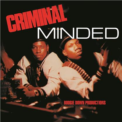 Boogie Down Productions (Krs-One) - Criminal Minded - Picture Disc (B-Boy, 2019 Reissue, Colored, 2 LPs)