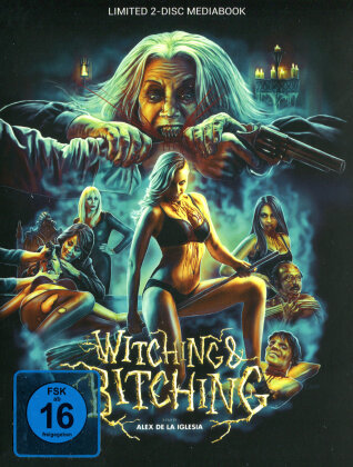 Witching and Bitching (2013) (Wattiert, Cover Q, Limited Edition, Mediabook, Uncut, Blu-ray + DVD)