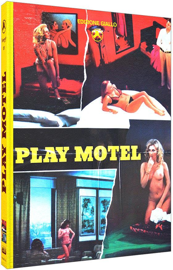 Play Motel (1979) (Cover B, Limited Edition, Mediabook, Blu-ray + DVD)